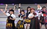 ライブイベント『AKB48 THE AUDISHOW』に登場したおかずクラブ (C)ORICON NewS inc.