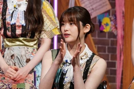 11日放送の『MUSIC BLOOD』に登場する乃木坂46・松村沙友理(C)日本テレビ