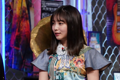 11日放送の『MUSIC BLOOD』に登場する乃木坂46・与田祐希(C)日本テレビ