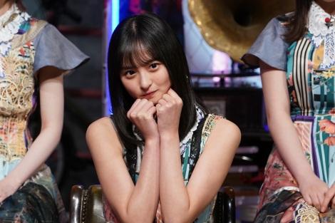 11日放送の『MUSIC BLOOD』に登場する乃木坂46・遠藤さくら(C)日本テレビ