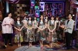 田中圭(左)と千葉雄大(右)がMCを務める『MUSIC BLOOD』に出演した乃木坂46(C)日本テレビ