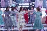 11日に放送された『MUSIC BLOOD』に出演した乃木坂46(C)日本テレビ
