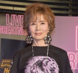 『Live Greatness キャンペーン』のローンチイベントに出席した小柳ルミ子 (C)ORICON NewS inc.