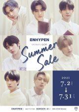 『SHIBUYA109 SUMMER SALE』のキャンペーンモデルに起用されたENHYPEN