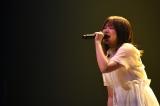 吉岡聖恵=『いきものがかりの みなさん、こんにつあー!! THE LIVE 2021!!!』ファイナルより  Photo by 岸田哲平