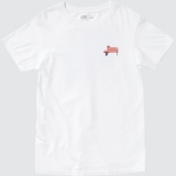 YOASOBIとユニクロのグラフィックTシャツブランド「UT」がコラボレーションした「YOASOBI UT」KIDS Tシャツ