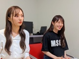 『TOKYO FM 乃木坂FES』に独占密着(左から)梅澤美波、高山一実(C)TOKYO FM(C)TOKYO FM