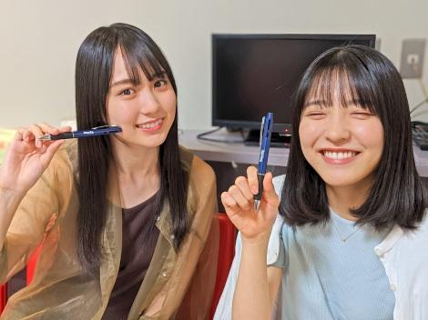 賀喜遥香&早川聖来が『THE TRAD』に生出演(C)TOKYO FM
