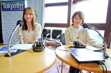 『TOKYO FM 乃木坂FES 〜乃木坂46がワンモからSOLまで1日電波ジャック〜』に独占密着 『住吉美紀のBlue Ocean』に出演した田村真佑&樋口日奈(C)TOKYO FM