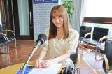 『TOKYO FM 乃木坂FES 〜乃木坂46がワンモからSOLまで1日電波ジャック〜』に独占密着 『住吉美紀のBlue Ocean』に出演した田村真佑(C)TOKYO FM