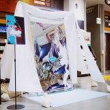 全国11店舗のCDショップに出現した「#トケチャレ」ブース