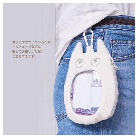 小トトロ おおきなおくちポーチ(C)Studio Ghibli