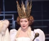 うっかりネタバレし大慌てした若村麻由美=舞台『首切り王子と愚かな女』取材会 (C)ORICON NewS inc.