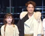 舞台『首切り王子と愚かな女』取材会に出席した(左から)伊藤沙莉、井上芳雄 (C)ORICON NewS inc.
