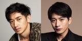NHK正月時代劇『幕末相棒伝』に出演する(左から)永山瑛太、向井理