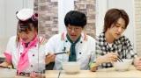 『そんな食べ方あったのか!』に出演したHiHi Jetsの橋本涼 (C)テレビ朝日