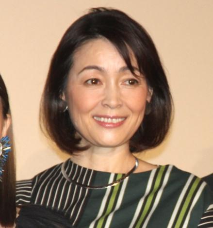映画『ファイナルファンタジーXIV 光のお父さん』公開記念イベントに出席した財前直見 (C)ORICON NewS inc.