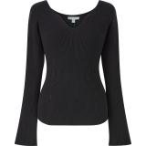 3Dリブセーター(長袖)ブラック(XS〜XXL)3,990円(税込)