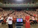 『土曜スタジオパーク』に宮城県登米市から出演した(左から)夏木マリ、清原果耶(C)NHK