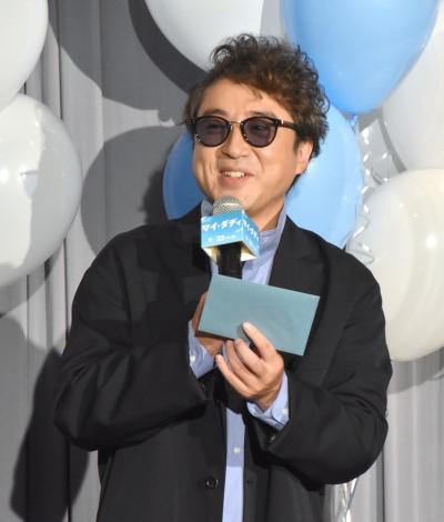 映画『マイ・ダディ』完成報告イベントに参加したムロツヨシ (C)ORICON NewS inc.