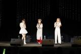 ハロプロOG(左から)田中れいな、高橋愛、夏焼雅の新ユニット「たいやきたべたのなんで?」が「およげ!たいやきくん」のカバーをライブ初披露