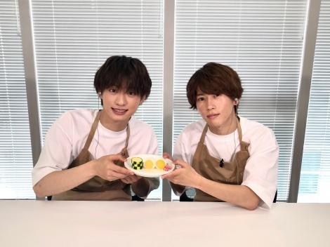 『ドデスカ』の「Aぇ! groupの東海地方Aぇとこ入門!」に出演する(左から)福本大晴、末澤誠也