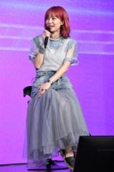 映画『夏への扉 -キミのいる未来へ-』公開直前イベントに登壇したLiSA (C)ORICON NewS inc.