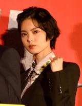 映画『ザ・ファブル 殺さない殺し屋』公開初日舞台あいさつに登壇した平手友梨奈 (C)ORICON NewS inc.