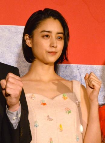 映画『ザ・ファブル 殺さない殺し屋』公開初日舞台あいさつに登壇した山本美月 (C)ORICON NewS inc.