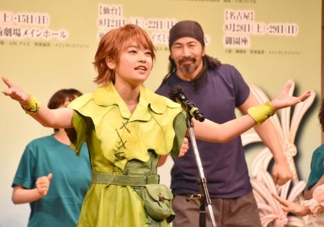 ブロードウェイミュージカル『ピーターパン』の制作発表会見に出席した吉柳咲良(C)ORICON NewS inc.