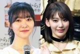 (左から)指原莉乃、宮脇咲良(C)ORICON NewS inc.
