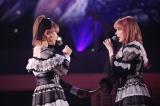 親友の村重杏奈と涙ながらに歌った「思い出のほとんど」=『宮脇咲良 HKT48 卒業コンサート〜Bouquet〜』より(C)Mercury