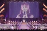 マリンメッセ福岡で行われたコンサートでHKT48を卒業した宮脇咲良(C)Mercury