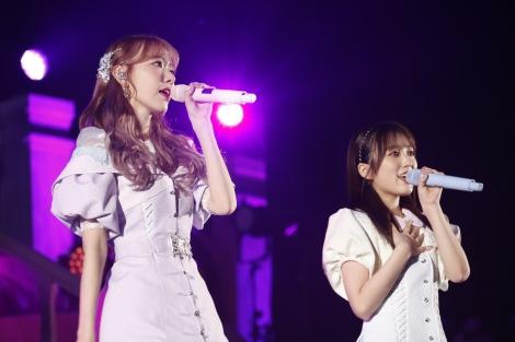 HKT48、IZ*ONEで活動を共にした宮脇咲良と矢吹奈子がデュエット(C)Mercury