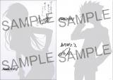 キャストサイン入りミニポスター(左から)真希波・マリ・イラストリアス、渚カヲル(サンプル) (C)カラー
