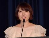 『ショートショート フィルムフェスティバル & アジア 2021』のアワードセレモニーのMCを務めた花澤香菜 (C)ORICON NewS inc.