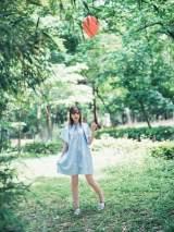 『PlatinumFLASH vol.15』に登場する乃木坂46・中村麗乃 (C)加藤アラタ、光文社