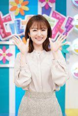 『ヒルナンデス!』×THE MUSIC DAYがコラボ 「昼南乃風」結成する滝菜月アナ (C)日本テレビ