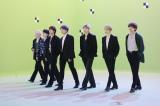 BTS、仮想都市で休日を過ごす新CM放送開始 メンバーのジャンプ力に現場は終始驚き
