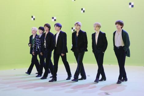 BTSが出演する「smash.」新テレビCMメイキング