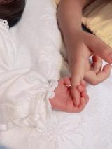 第2子女児出産を報告した中野美奈子アナウンサー (写真はブログより、許諾済み)