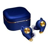 AVIOTの完全ワイヤレスイヤホンの新モデル「TE-D01q」ラピスブルー(付属イヤーウィングカラー:本体同色、レッド)