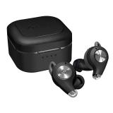 AVIOTの完全ワイヤレスイヤホンの新モデル「TE-D01q」ブラックオニキス(付属イヤーウィングカラー:本体同色、ライムグリーン)