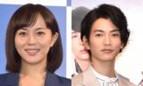 (左から)比嘉愛未、渡邊圭祐 (C)ORICON NewS inc.