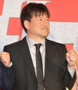 映画『ザ・ファブル 殺さない殺し屋』公開初日舞台あいさつに登壇した佐藤二朗 (C)ORICON NewS inc.