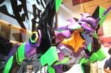 エヴァンゲリオン×獺祭【獺祭補完計画】スペシャルイベントに登場したエヴァンゲリオン初号機 (C)ORICON NewS inc.