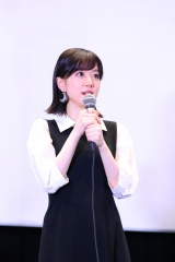 劇場版『BanG Dream! Episode of Roselia �U : Song I am.』舞台挨拶に登壇したRoselia・工藤晴香