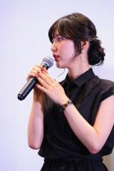 劇場版『BanG Dream! Episode of Roselia �U : Song I am.』舞台挨拶に登壇したRoselia・志崎樺音