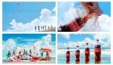 """NiziUが夏を楽しむ瞬間描く 『コカ・コーラ』新CMに""""初のサマーソング""""起用【インタビュー掲載】"""