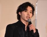 映画『夏への扉 −キミのいる未来へ−』の初日舞台あいさつに出席した山崎賢人 (C)ORICON NewS inc.